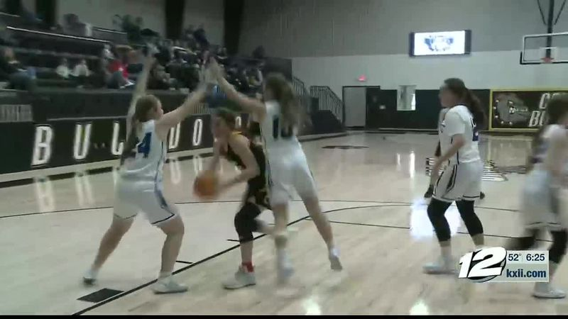 Caddo-Rock Creek Girls Hoops Highlights