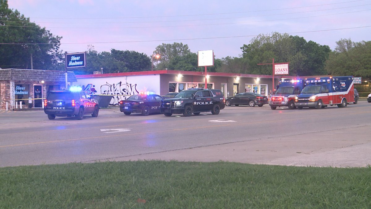 Ardmore Police is investigating a dispensary robbery where a suspect was shot dead on scene.