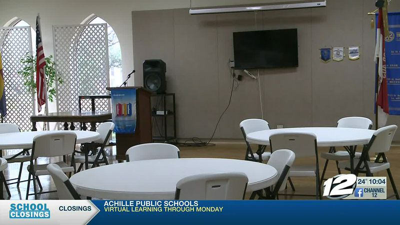 A Denison church opening its doors to the homeless for cold nights.