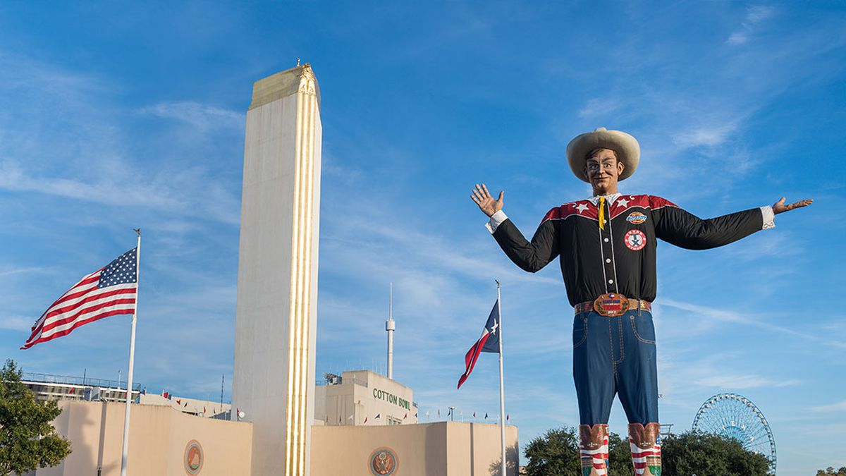 Big Tex at the State Fair of Texas.