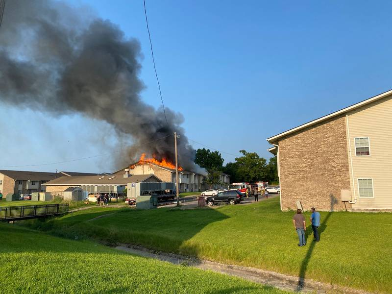 Sherman firefighters and police are investigating what caused a Sherman apartment complex to go...