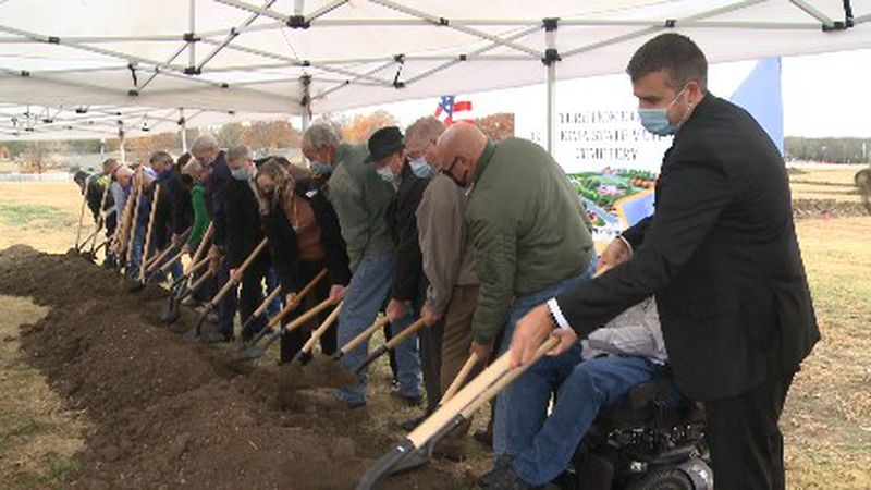 Friday the Oklahoma Department of Veterans Affairs held a groundbreaking ceremony in Ardmore...