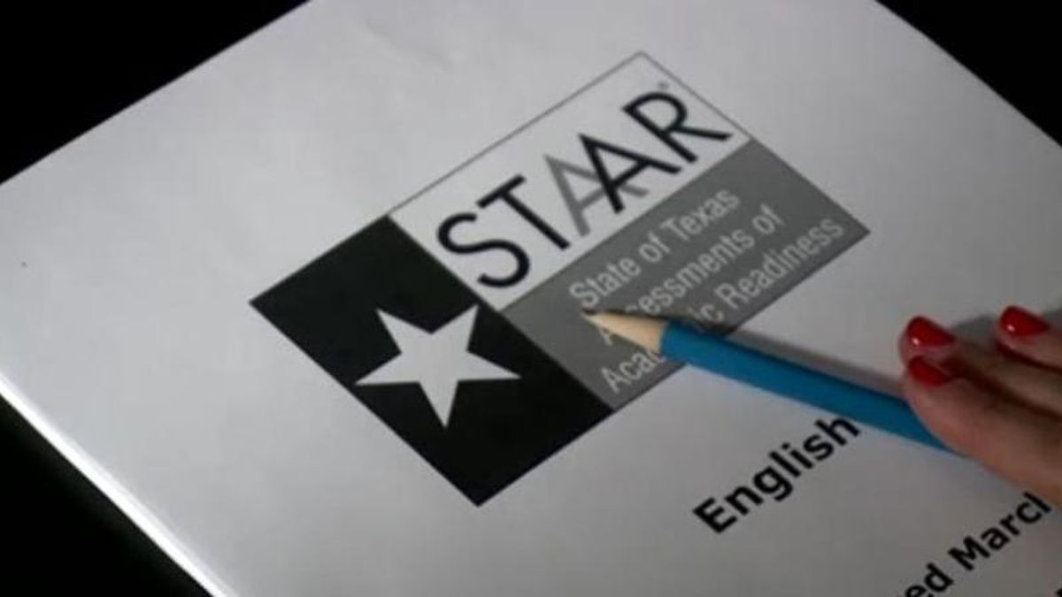 File photo: STAAR Test