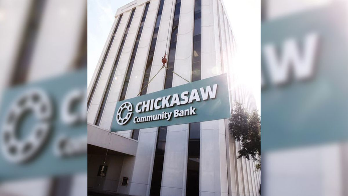 Chickasaw Governor Bill Anoatubby announced a name change for the Chickasaw bank.
