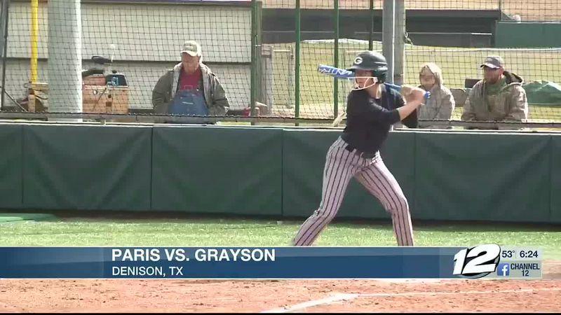 Paris-Grayson Softball Highlights