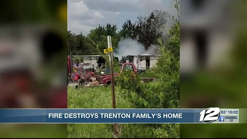 Two firefighters from the Trenton Fire department were sent to the hospital for heat exhaustion...