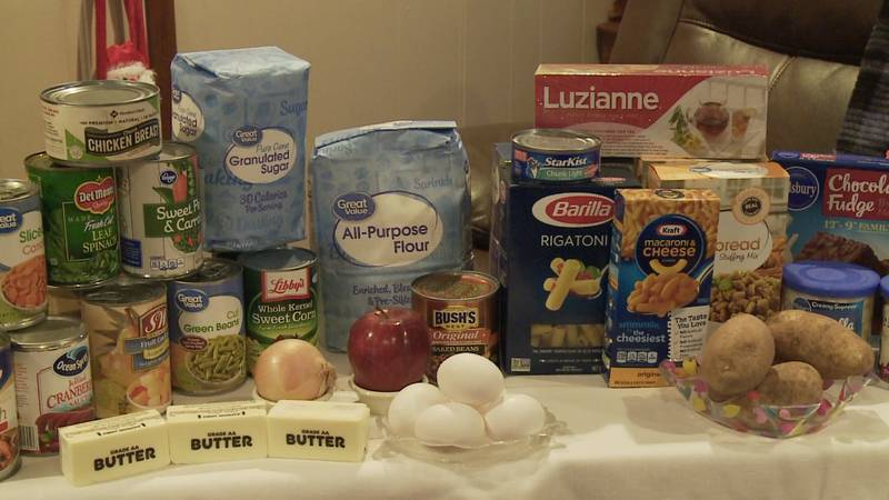 A local ministry is collecting donations for Thanksgiving food boxes to give to people in need.