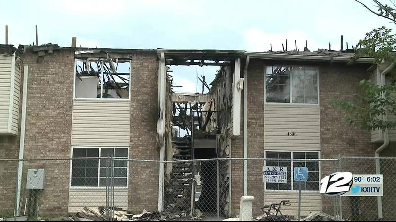Community rallies to help residents displaced by apartment fire