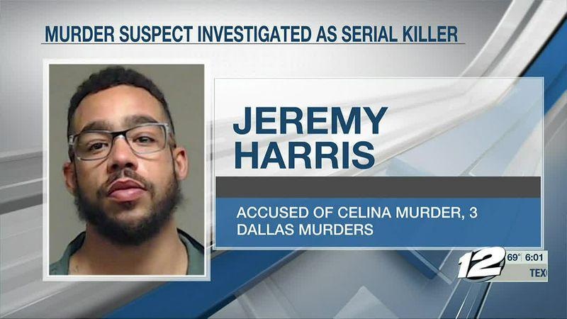 Dallas Police: Celina murder suspect may be serial killer