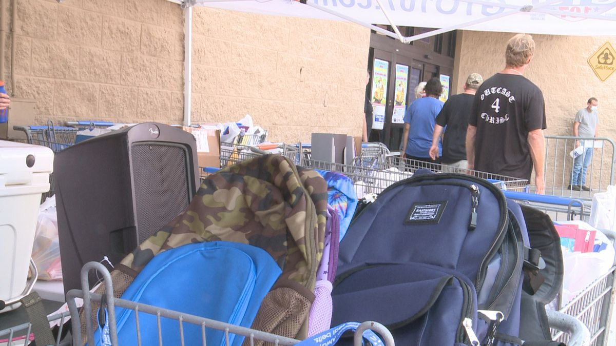 The Stuff the School Bus event, annually held at Walmart in Ardmore gives people the chance to donate school supplies to five counties: Murray, Carter, Johnston, Marshall and Love.
