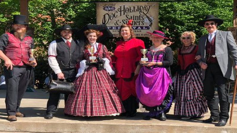 The city of Denison is bring the wild west back to Main street for the Doc Holliday Saints &...
