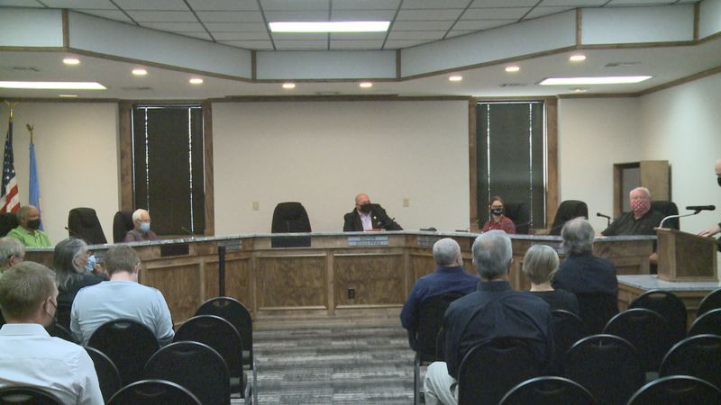 Ardmore's mask mandate went into effect immediately after the city commission passed it just...
