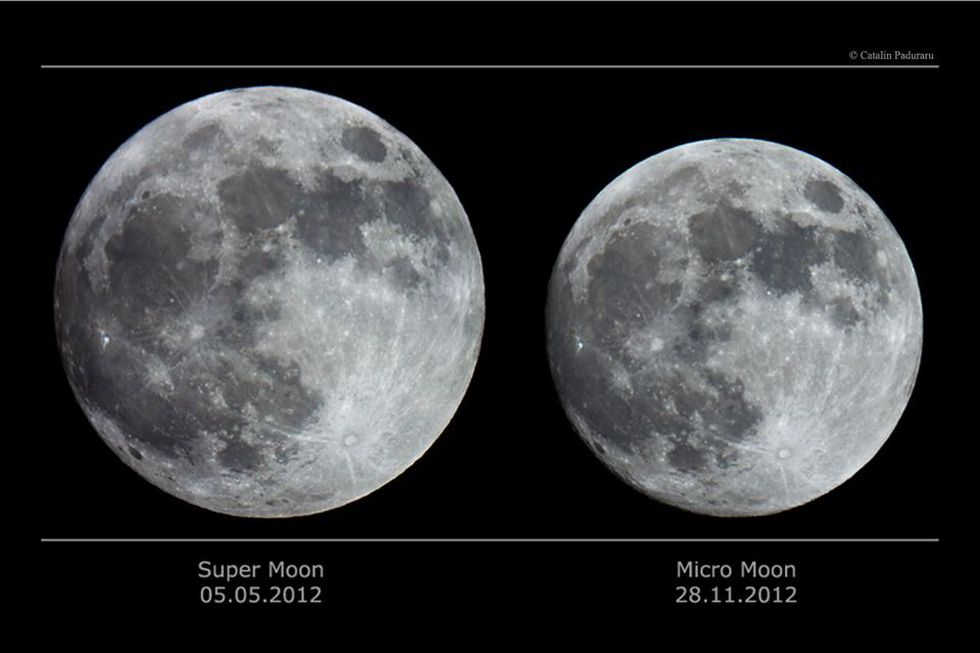 A micro moon is a full moon that happens when it is farthest away in its orbit from Earth. It...