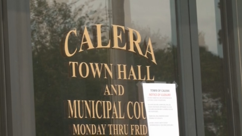 Calera Town Hall will remain closed for another week after a positive COVID-19 test.