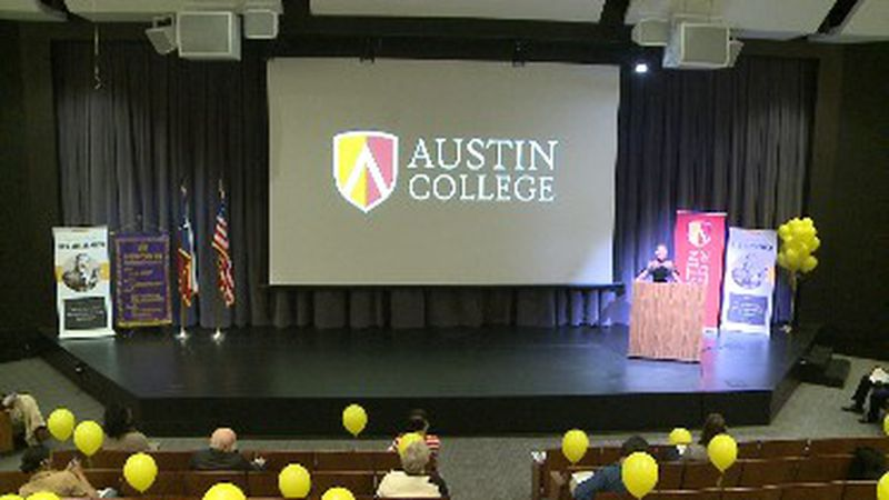 Guest speakers at Austin College event share why MLK day is important this year more than ever.