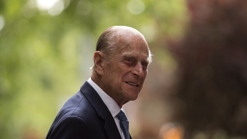 In this Monday, June 8, 2015 file photo, Britain's Prince Philip, the husband of Queen...