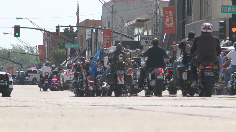 The American Legion in Ada hosted an Armed Forces day Parade to honor men and women in the...