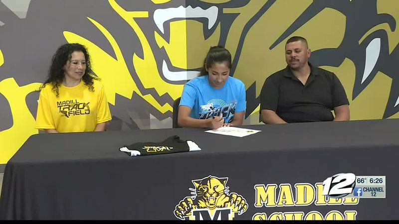 Madill's Mendez signs with SOSU