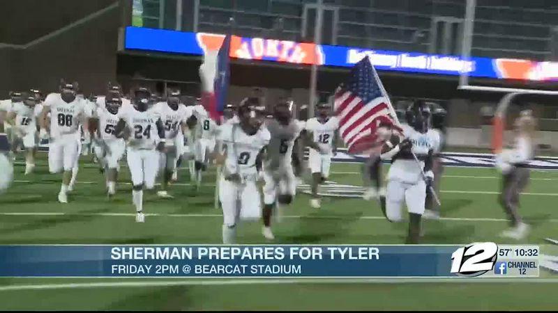 Sherman prepares for Tyler