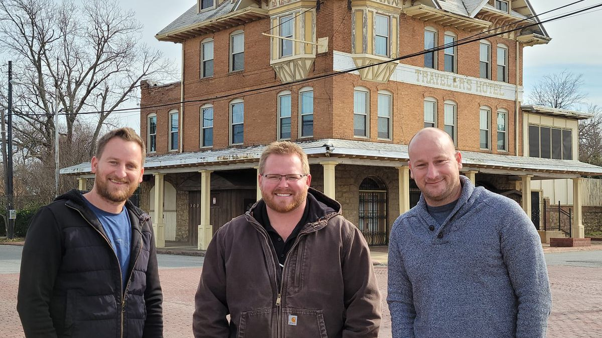 Brothers Jonathan and Jason Earnhart and business partner Jacob West plan to revamp the...