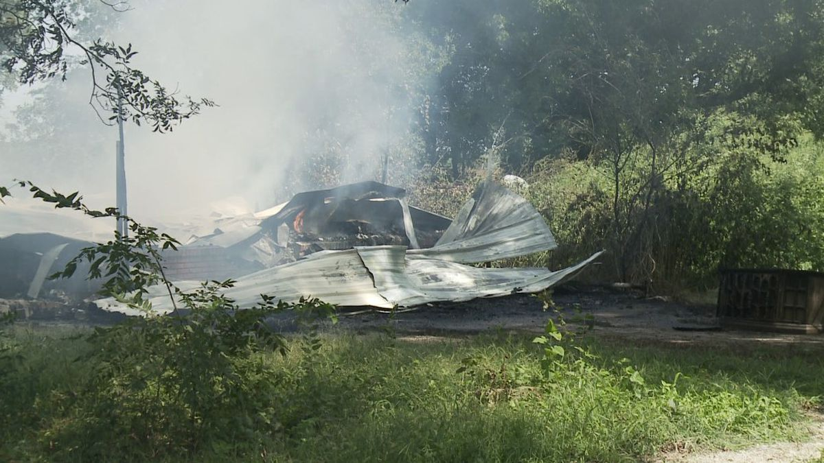 A Sherman home is a total loss after a fire Sunday morning.