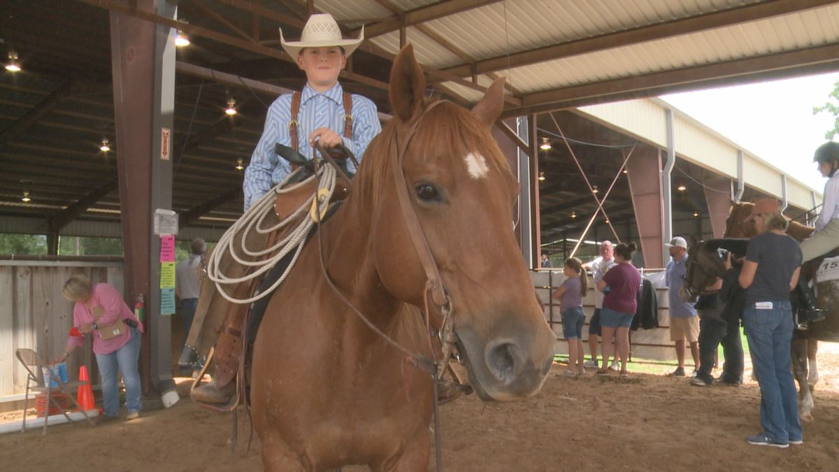 Wednesday the Hardy Murphy Coliseum held the first day of the Southeast District's 4-H horse...