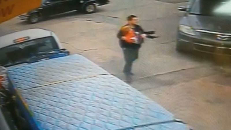The Ada police department is searching for a man they say stole a pickup truck with a child...