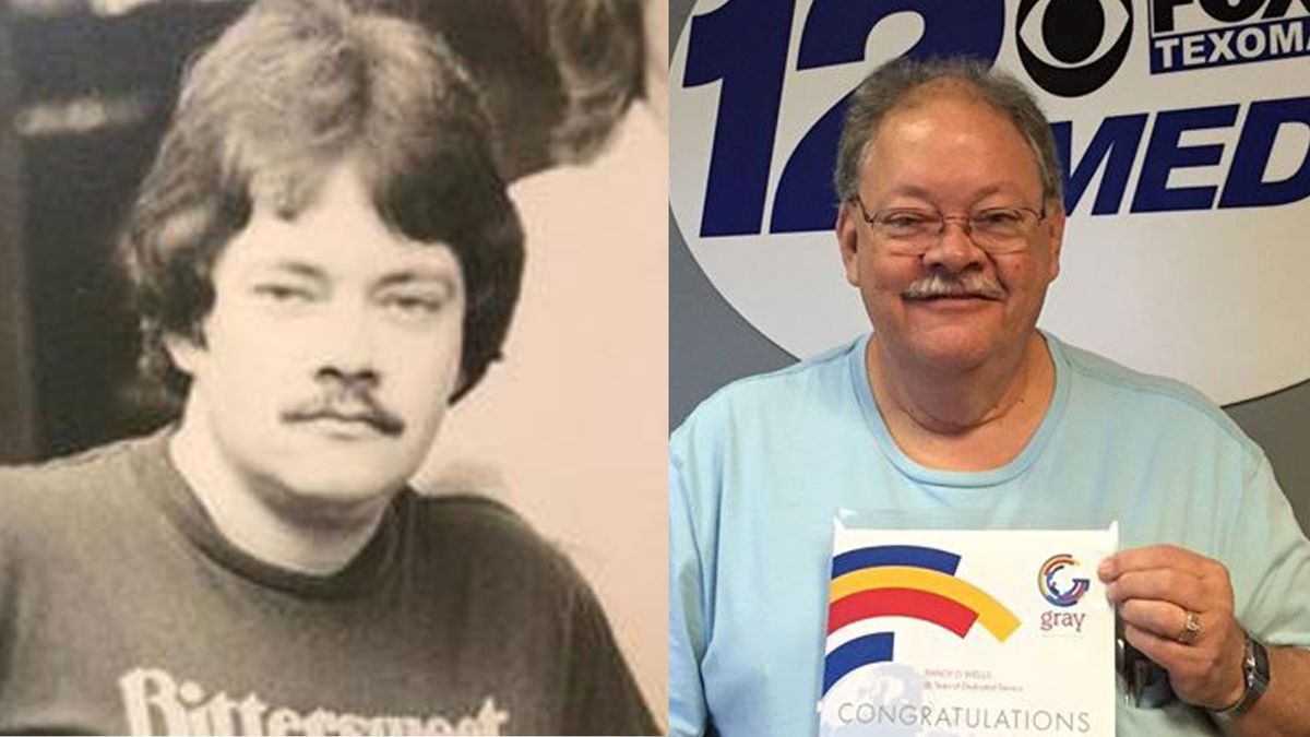Randy Wells served as engineer at KXII for 48 years before retiring in 2019.