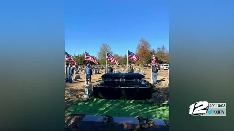 A Vietnam Veteran was laid to rest in Paris Monday, after dedicating over 20 years of his life...