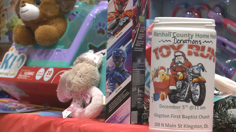 People in Kinston collected toys to make sure a Marshall County kid has something under the...