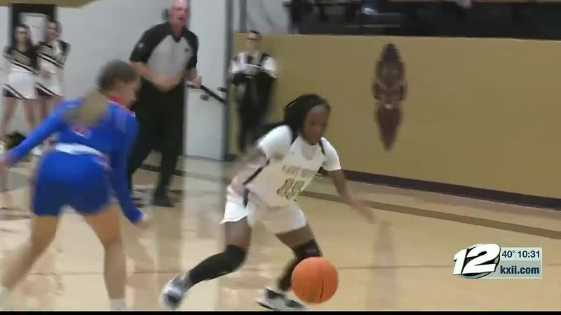 Durant-Hugo Girls Hoops Highlights