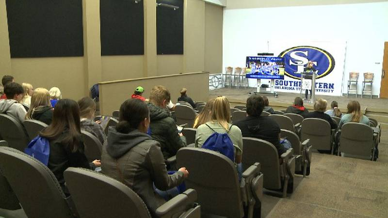 Nearly 200 students toured the school and learned about academic programs and student...
