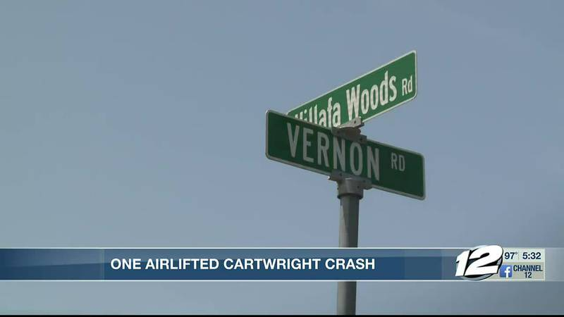 Man airlifted to Texas hospital after motorcycle crash