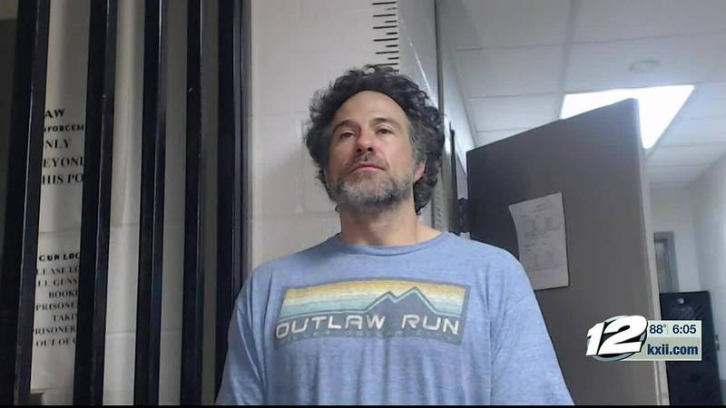 A man is in the hospital and a Murray County attorney is in jail after police say a friendly...