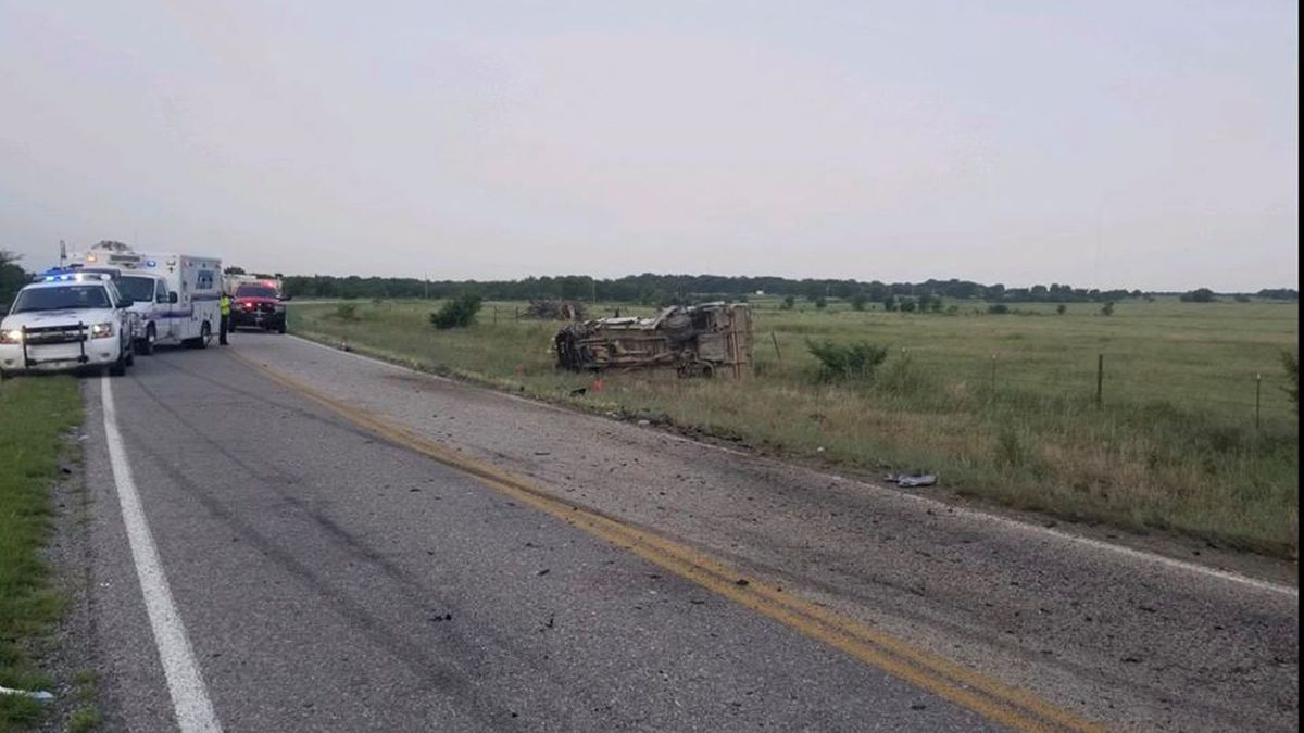 One person has been arrested for driving under the influence after a crash in Johnston County Friday morning.