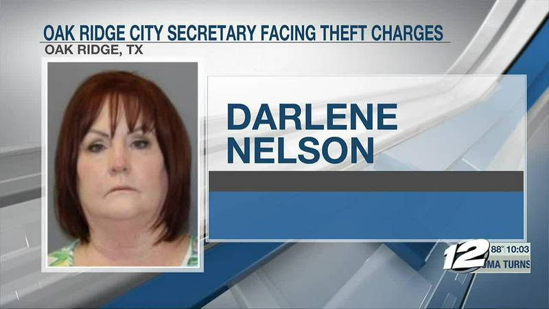 A former city secretary for the city of Oak Ridge is facing theft charges between $150 thousand...