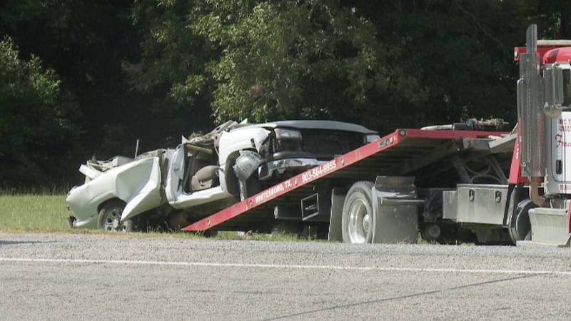 Single vehicle wreck Friday morning left driver of the car transported via air evac to hospital