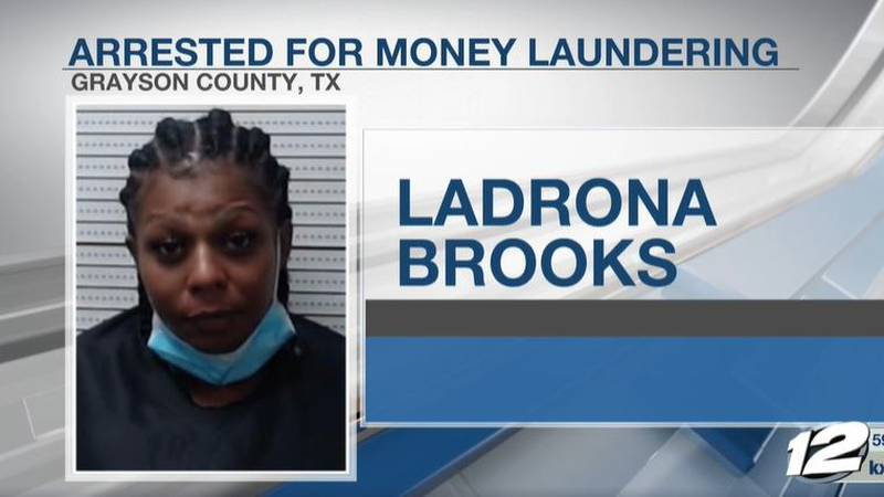 A Grayson County woman is facing money laundering charges, after she was caught with several...
