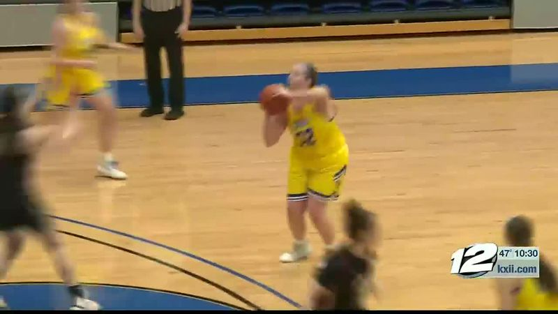 Southern Naz-SOSU Womens Hoops Highlights