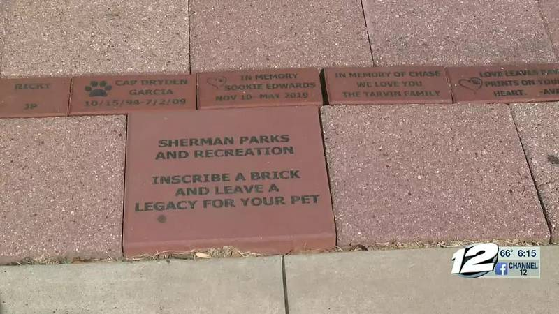 Sherman Parks and Recreation is offering pet owners a chance to memorialize their furry little...