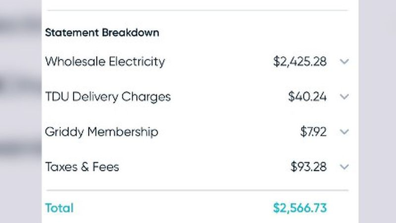 Some Texomans are seeing a four-digit electric bill after last week's outages.