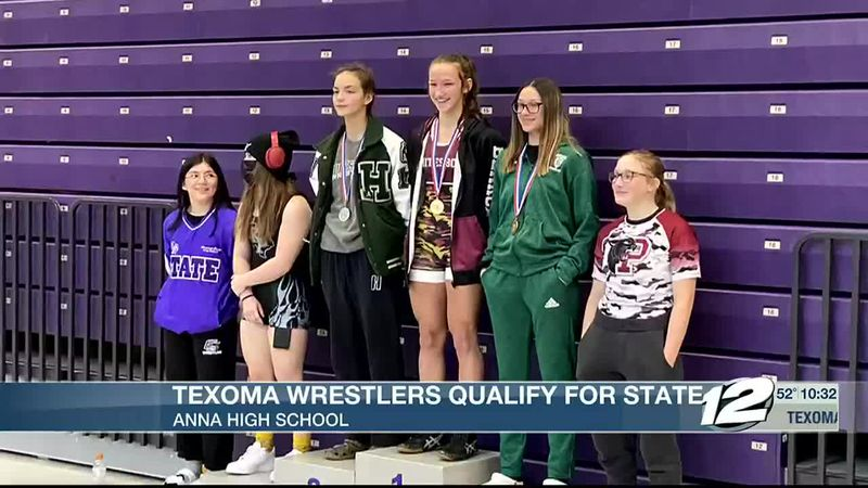 Texoma wrestlers qualify for state