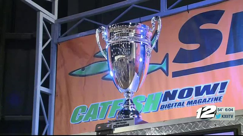 This weekend around 100 angler teams are competing on Lake Texoma in the Catmasters Fishing...