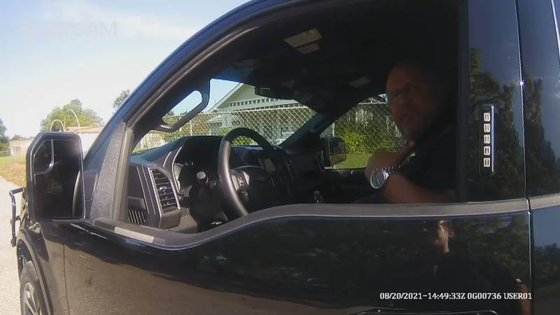 Last Friday Carter County sheriff Chris Bryant was pulled over in Wilson near Hewitt street and...