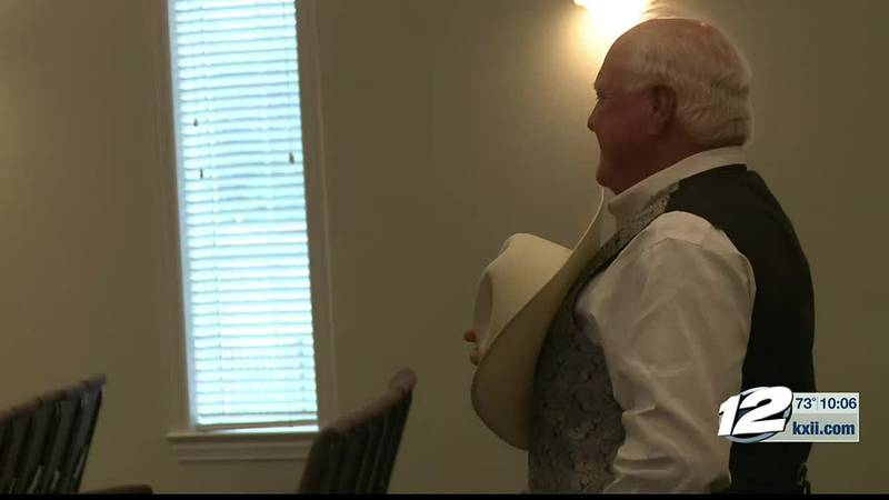 The Texas Agriculture Commissioner visited the Texoma Patriots activist group Wednesday to...