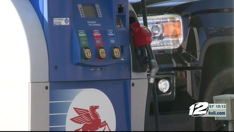 Triple A says their average of a dollar sixty two a gallon puts them among just a handful of...