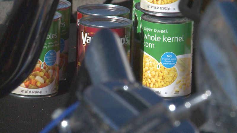 A Texoma veteran nonprofit, the Faceless Souls Motorcycle Club held a food drive Saturday to...
