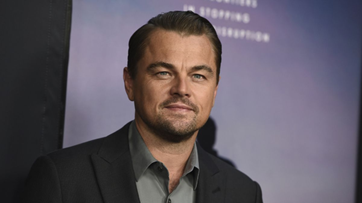 """Leonardo DiCaprio attends the Los Angeles premiere of """"Ice on Fire"""" on..."""
