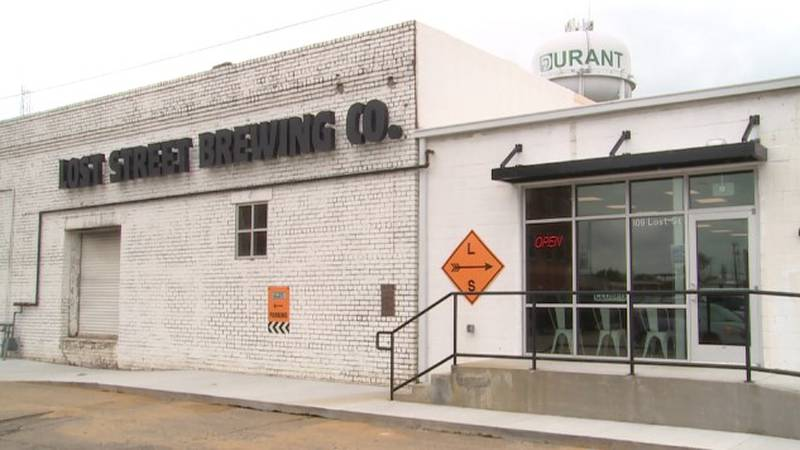 Right now they are just functioning as a brewery, but plan to add a restaurant in the next year.