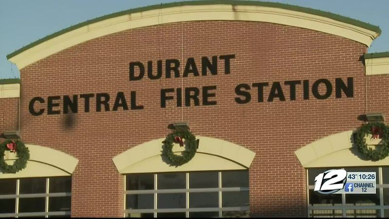 Durant Fire department waiting approval of $156,000 grant for 20 new self-contained breathing...